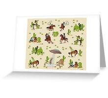 COWBOYS & ALIENS Greeting Card