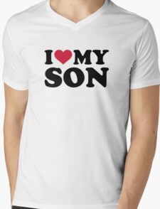 I love my son Mens V-Neck T-Shirt