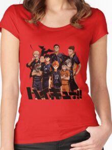 Haikyuu[hd] Women's Fitted Scoop T-Shirt