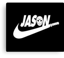 Jason Nike Canvas Print