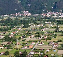 aeral view of the country by spetenfia