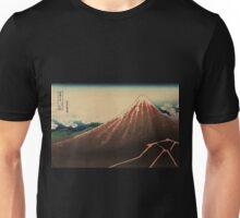 Sanka haku - Hokusai Katsushika - 1890 Unisex T-Shirt