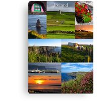Cliffs of Moher poster Canvas Print