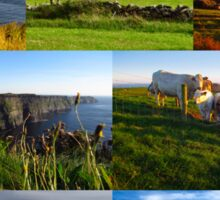 Cliffs of Moher poster Sticker
