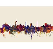 New Delhi India Skyline Photographic Print