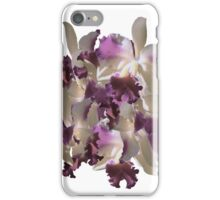 Purple pink orchids iPhone Case/Skin