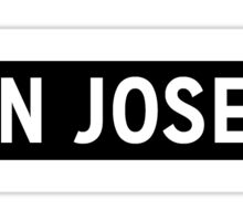 San Jose Sticker
