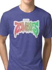 FLATBUSH ZOMBIES LOGO SIMPLE Tri-blend T-Shirt