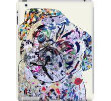 pug modern iPad Case/Skin
