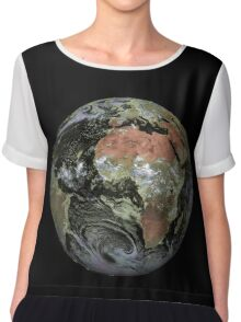 Africa from satellite | globetrotter Chiffon Top