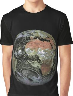 Africa from satellite | globetrotter Graphic T-Shirt