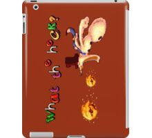 Earthworm Jim - What the Heck? iPad Case/Skin