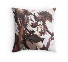 Badass Ryuko - Kill la Kill Throw Pillow