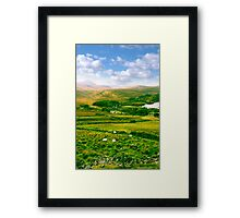 old Dunlewy church in beautiful Donegal  Framed Print
