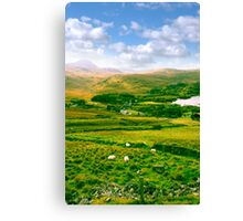 old Dunlewy church in beautiful Donegal  Canvas Print