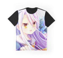 Shiro The White Flower - No Game No Life Graphic T-Shirt