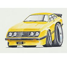 Escort RS2000 Mk2 By Glens Graphix Photographic Print