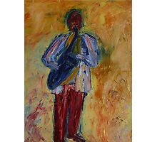 Jazz (from original oil painting) Photographic Print