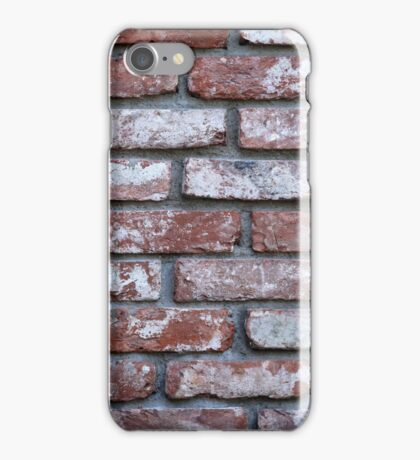 wall of bricks iPhone Case/Skin