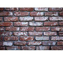 wall of bricks Photographic Print