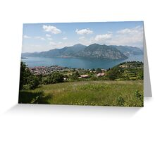 lake scape Greeting Card