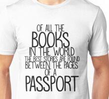 Passport stories Unisex T-Shirt