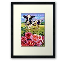 YOU LOOKIN' AT ME Framed Print