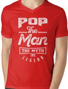 Pop. The Man. The Myth. The Legend Mens V-Neck T-Shirt