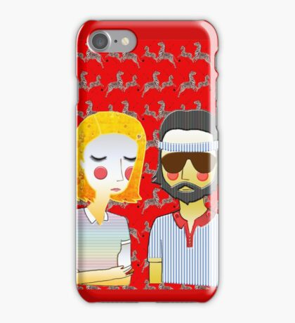 Margot& Richie// The Royal Tenenbaums iPhone Case/Skin