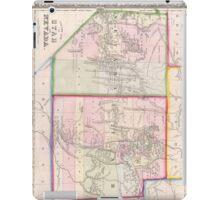 Vintage Map of Nevada and Utah (1866) iPad Case/Skin