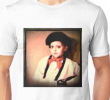 Portrait of a Young Mime Unisex T-Shirt