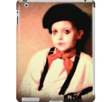 Portrait of a Young Mime iPad Case/Skin