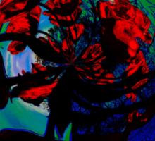 Sun Mandala With Tulips Mandala Recursive Sticker
