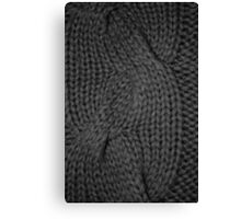 cable knit | texture Canvas Print