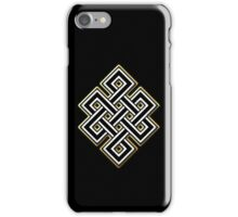 Thought Knots Straight Edge iPhone Case/Skin