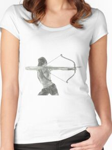 Tomb Raider v2 Women's Fitted Scoop T-Shirt