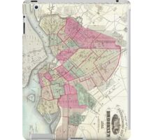 Vintage Map of Brooklyn (1868) iPad Case/Skin