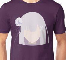 Emilia (Re:Zero kara Hajimeru Isekai Seikatsu) Unisex T-Shirt