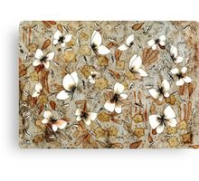 Butterfly Meadow Canvas Print