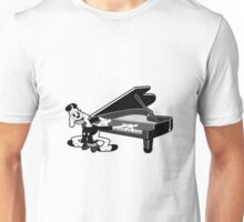 Goopy Geer Pianist Unisex T-Shirt