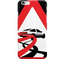 Caution: Inertia Drift iPhone Case/Skin
