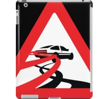 Caution: Inertia Drift iPad Case/Skin