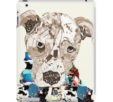 a pit bull day  iPad Case/Skin