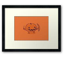 Halloween slice of life Framed Print