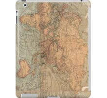 Vintage Map of The World (1870) iPad Case/Skin