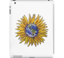 Sunflower Earth iPad Case/Skin