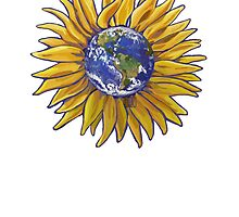 Sunflower Earth by Traci VanWagoner