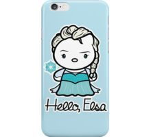 Hello, Elsa iPhone Case/Skin