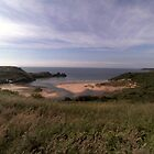 The beauty of Three Cliffs Bay by missmoneypenny