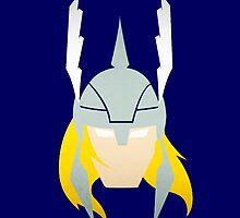 Thor - Minimal Marvel Hero by Mellark90